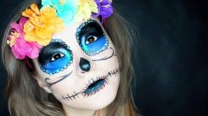 "Makijaż na Halloween ""Dia de los muertos"""