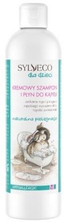 Kremowy szampon i płyn do kąpieli dla dzieci  i niemowląt 300ml