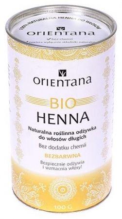 BIO Henna Bezbarwna - Odżywka do włosów 100g