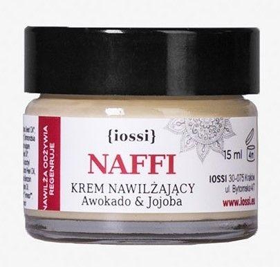 Nawilżający krem do twarzy NAFFI Awokado & Jojoba (wersja mini) 15ml