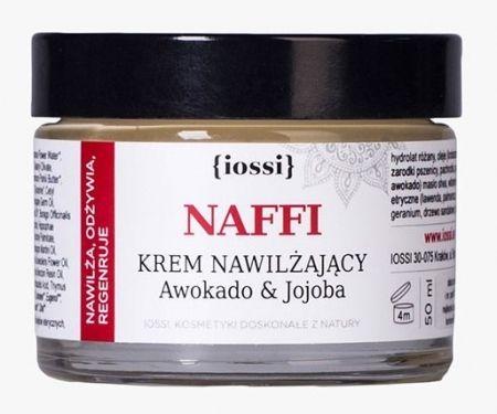 Nawilżający krem do twarzy NAFFI Awokado i Jojoba 50ml