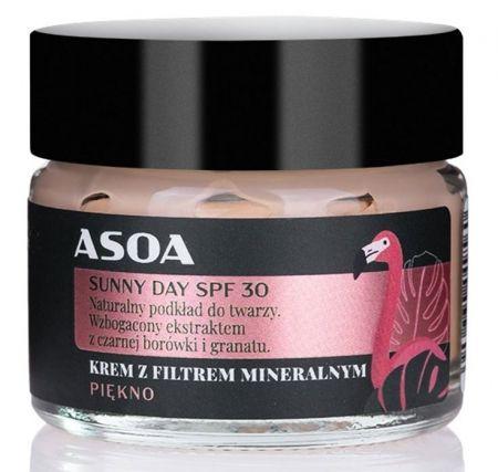 Naturalny krem z filtrem SUNNY DAY SPF 30 (wersja mini) 15ml