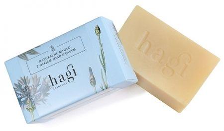 Naturalne mydło z olejem ze słodkich migdałów 100g
