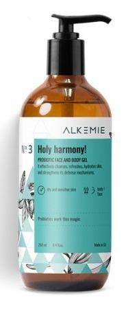 MICROBIOME Probiotyczny żel do mycia twarzy i ciała Holy Harmony 250ml