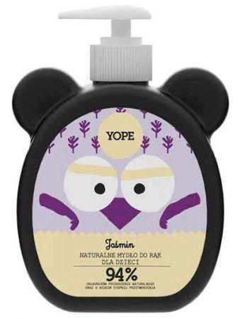 Naturalne mydło do rąk dla dzieci Jaśmin 400ml