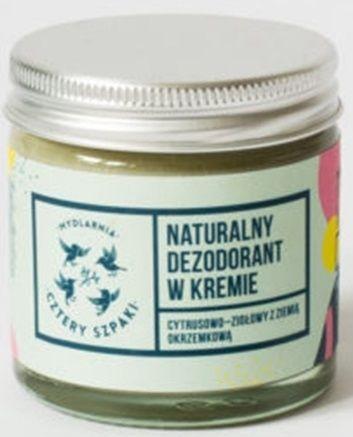 Dezodorant w kremie cytrusowo - ziołowy 60ml