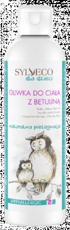 Oliwka do ciała z betuliną dla dzieci i niemowląt 200ml