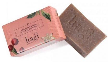 Naturalne mydło z glinką ghassoul i jedwabiem 100g