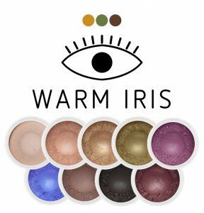 Zestaw mini cieni Warm Iris