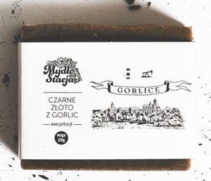 Mydło naturalne Czarne Złoto z Gorlic 120g