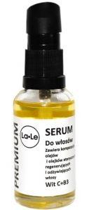 Naturalne serum olejowe do włosów 30ml